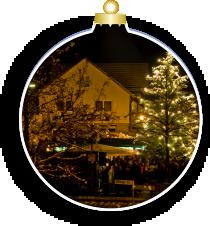 Kleiner Weihnachtsmarkt mit Fotobox ADELSRIED EINTAUSEND